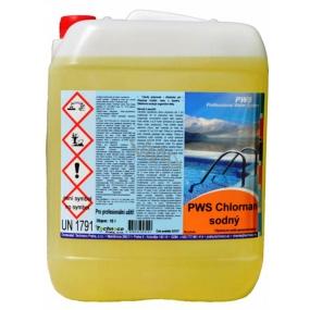 Via-Rek Chlornan sodný - tekutý chlor do bazénu 10l kanystr