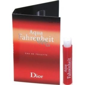 Christian Dior Aqua Fahrenheit toaletní voda pro muže 1 ml s rozprašovačem, Vialka