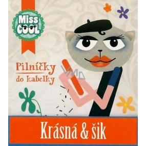 Nekupto Miss Cool Pilníčky na nehty 009 Kočka baret Krásná & šik 6 kusů 1 balení