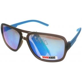 Dudes & Dudettes JK447 modré ručky sluneční brýle pro děti