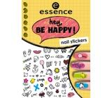Essence Nail Art Hey, Be Happy! nálepky na nehty 05 1 aršík