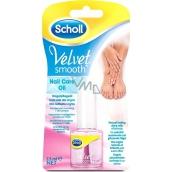 Scholl Velvet Smooth Pink olej na nehty 7,5 ml