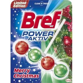 Bref Power Aktiv 4 Formula Merry Christmas červeno-zelený Wc blok 50 g