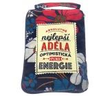 Albi Skládací taška na zip do kabelky se jménem Adéla 42 x 41 x 11 cm