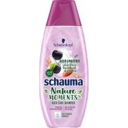 Schauma Nature Moments Acai plody, mandlové mléko a ovesné vločky šampon na velmi suché a suché vlasy 400 ml