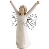 Willow Tree - Anděl odvaha - Přináší ducha vítězství, inspirace a odvahy Figurka anděla Willow Tree, výška 15 cm