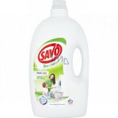 Savo Universal Bez chlóru prací gel na bílé a barevné prádlo 100 dávek 5 l