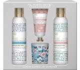 Baylis & Harding Lesní zvonek a Květinová louka mycí gel 250 ml + sprchový krém 250 ml + krém na ruce 30 ml + vonná svíčka 60 g, kosmetická sada