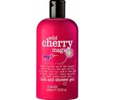 Treaclemoon Wild Cherry Magic sprchový gel bez silikonů, parabenů, červené barvy 500 ml