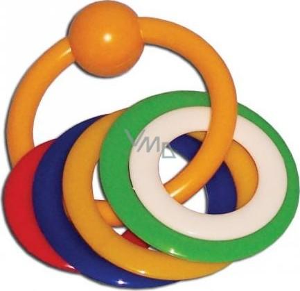 Baby Farlin kousací kroužky sada 6 kusů
