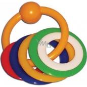 Plastic Nova Kousací kroužky pro děti od 0 měsíců
