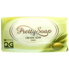 Pretty Soap Olive toaletní mýdlo 100 g