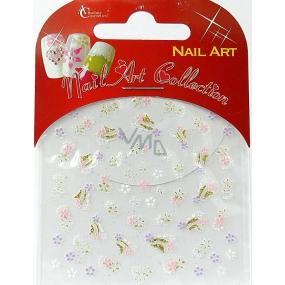 Absolute Cosmetics Nail Art samolepicí nálepky na nehty S3D024 1 aršík