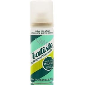 Batiste Clean & Classic Original Dry Shampoo pro všechny typy vlasů suchý šampon na vlasy 50 ml
