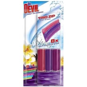 Dr. Devil Sunset Blossom 6v1 Trio Zip Wc samolepící blok 60 g