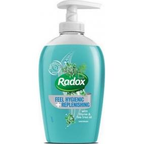 Radox Feel Hygienic & Replenished tekuté mýdlo dávkovač 250 ml