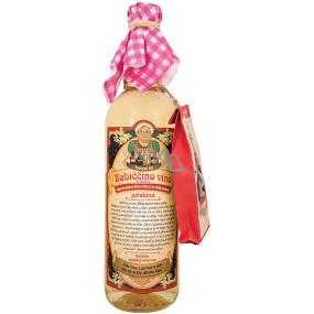 Bohemia Gifts & Cosmetics Babiččino macerační dárkové víno bílé - jeřabina 750 ml