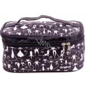 Albi Original Kosmetická taška Kočky, 23 cm × 15 cm × 12 cm