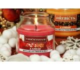 Lima Aroma Dreams Vánoční fantazie aromatická svíčka sklenička s víčkem 120 g