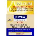 Nivea Visage Vital regenerační noční krém velmi zralá pleť 50 ml