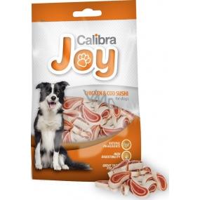 Calibra Joy Kuřecí maso & treska Sushi doplňkové krmivo pro psy 80 g