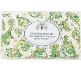English Soap Vintage Santalové dřevo Přírodní parfémované mýdlo s bambuckým máslem 200g