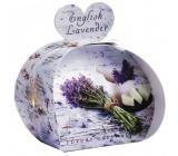 English Soap Anglická Levandule Přírodní parfémované mýdlo s bambuckým máslem 3x20g