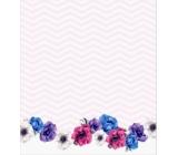 Albi Samolepicí bloček Květy 7 x 8 cm 100 listů
