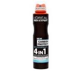 Loreal Paris Men Expert Carbon Protect 4v1 antiperspirant deodorant sprej 150 ml