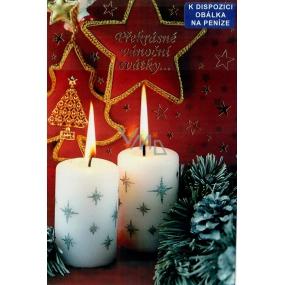 Nekupto Přání k Vánocům Překrásné vánoční svátky 3150 F