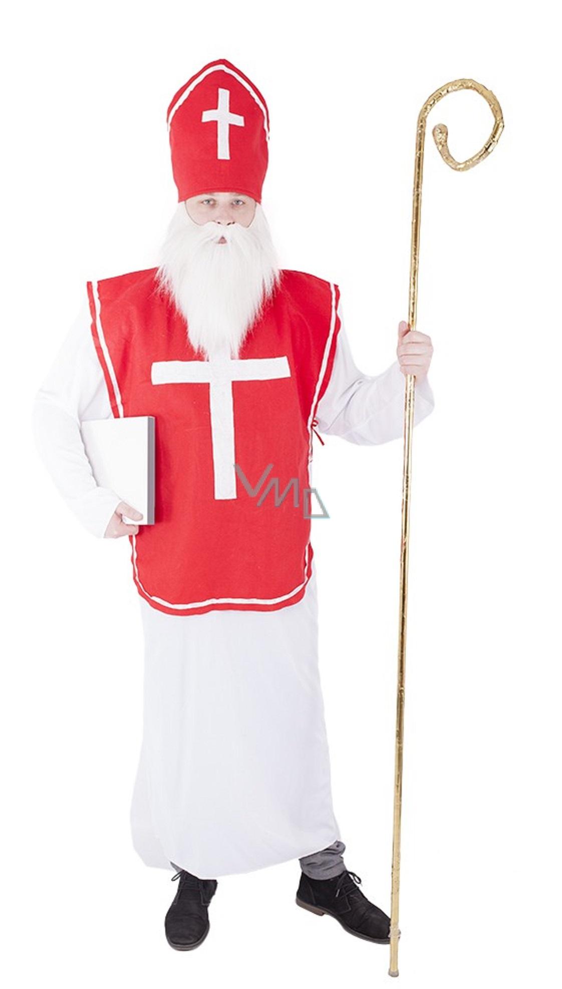 Kostým Mikuláš pro dospělé - VMD drogerie 03a85323925