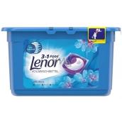 Lenor 3v1 Pods Spring Awakening gelové kapsle na praní prádla 11 kusů 290,4 g