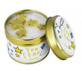 Bomb Cosmetics Jsi hvězda - You Star Vonná přírodní, ručně vyrobena svíčka v plechové dóze hoří až 35 hodin