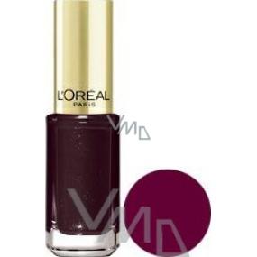 Loreal Paris Color Riche Le Vernis lak na nehty 406 Burgundy Diva 5 ml
