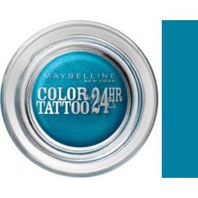 Maybelline Color Tattoo 24h oční stíny 20 Turquoise Forever 4 g