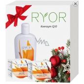 Ryor Koenzym Q10 denní krém s UV filtry 50 ml + Ryor Koenzym Q10 noční krém 50 ml + Ryor Koenzym Q10 tělové mléko 300 ml, kosmetická sada