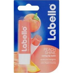 Labello Peach Shine balzám na rty 5,5 g