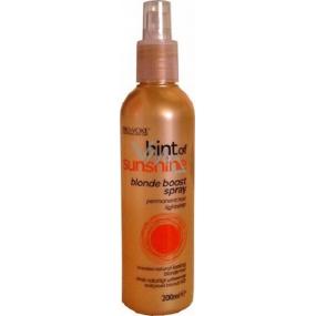 Pro:Voke Hint of Sunshine Blonde Boost Spray zesvětlující sprej na blond vlasy 200 ml