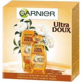 Garnier Rituál krásy Ultra Doux Rituál krásy vyživující šampon pro suché, hrubé vlasy 250 ml + Ultra Doux Rituál krásy vyživující balzám pro suché, hrubé vlasy 200 ml, kosmetická sada