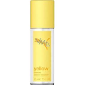 Puma Yellow Woman parfémovaný deodorant sklo pro ženy 75 ml Tester