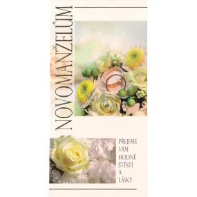 Nekupto Přání k svatbě G 21 3240 Novomanželům