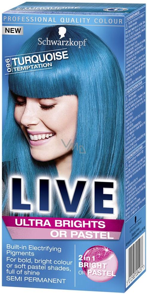 live barvy na vlasy