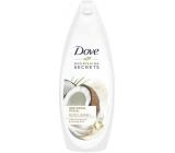 Dove Nourishing Secrets Pečující rituál srchový gel s kokosovým olejem a mandlovým mlékem 250 ml