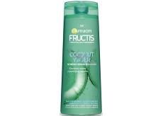 Garnier Fructis Coconut Water posilující šampon na mastné kořínky a suché konečky vlasů 250 ml