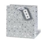 BSB Luxusní vánoční dárková papírová taška 23 x 19 x 9 cm VDT 416 - A5
