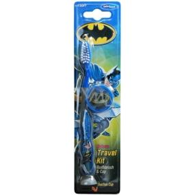 Batman měkký zubní kartáček s krytkou pro děti 2-6 let