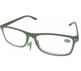Berkeley Čtecí dioptrické brýle +3,5 plast šedé černé stranice 1 kus MC2135
