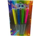 Klásek Prskavky Neon barevné 28 cm 20 kusů kategorie F1 prodejné od 15 let!