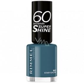 Rimmel London 60 Seconds Super Shine Nail Polish lak na nehty 863 Star Gazin 8 ml