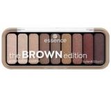 Essence Brown edition paletka očních stínů 30 Gorgeous Browns 1 kus